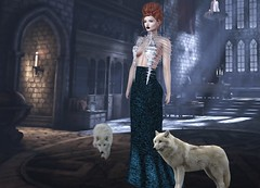 Mila Blauvelt (Mila Blauvelt) Tags: milablauvelt blogger model avatar virtual secondlife shopping sl style halloween skeletor gown mesh meshavatar maitreya designer ghee gheethedesignersowcase exclusive events event