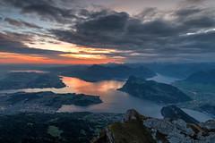 Sonnenaufgang (torremundo) Tags: landschaften berge sonnenaufgang wolken seen pilatus luzern schweiz