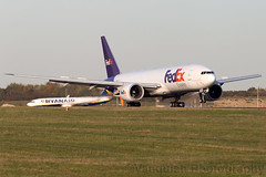 N857FD FedEX Express B777-200 London Stansted Airport (Vanquish-Photography) Tags: n857fd fedex express b777200 london stansted airport egss stn londonstansted stanstedairport londonstanstedairport vanquish photography vanquishphotography ryan taylor ryantaylor aviation railway canon eos 7d 6d 80d aeroplane train spotting