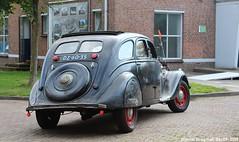 Peugeot 402 1937 (XBXG) Tags: dz6035 peugeot 402 1937 peugeot402 la fête des limousines 2018 fort isabella reutsedijk vught emw elk merk waardig vintage old classic car auto automobile voiture ancienne française vehicle outdoor nederland holland netherlands paysbas