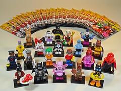 LEGO – 71017 – Minifigures – Batman Movie – Series 1 – All + 1 (My Toy Museum) Tags: lego minifigures minifigure mini figure batman movie