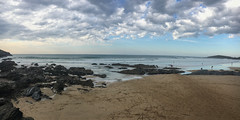 Fistral Beach (Andy.Gocher) Tags: andygocher canon100d uk iphone newquay beach clouds