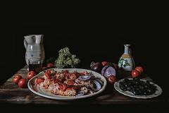 Acquasala (Michele Fini) Tags: pane pomodori cipolla origano vino olive food still life cibo puglia