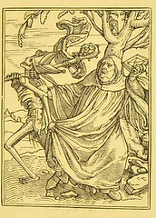 This image is taken from Page 14 of Holbein's Dance of death : exhibited in elegant engravings on wood ; also, Holbein's Bible cuts : consisting of ninety illustrations on wood (Medical Heritage Library, Inc.) Tags: dance death rcplondon ukmhl medicalheritagelibrary europeanlibraries date1858 idb22650660