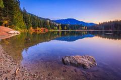 Lost Lake (michaelsabijon) Tags: lakes sunset whistler beautfulbritishcolumbia canada landscape canoncanada eos7d sigma