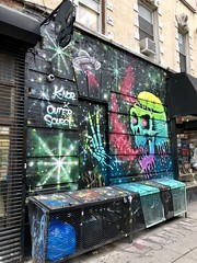 Space Zombies from Planet MU by K-Nor & Outer Source (wiredforlego) Tags: graffiti mural streetart urbanart publicart manhattan newyork nyc aerosolart outersource knor bowery