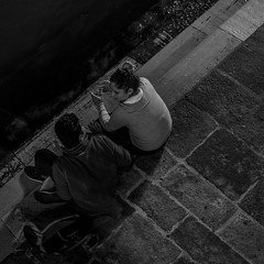 Chatting (evans.photo) Tags: venice people candid