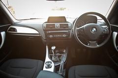 BMW 1 Series Interior (torquayadam) Tags: bmw interior idrive f20 se allblack silver sat nav canon 5d mark 2 mkii mk2 black class timeless sunflare