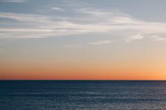 Horizon (gius_laino) Tags: sunset sky skyline sea water clouds shades