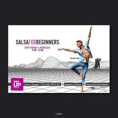 Step up salsa dance (locolime creations) Tags: advertising adv creation creative creator graphics design designer promotion promo banner facebook social web website communication marketing