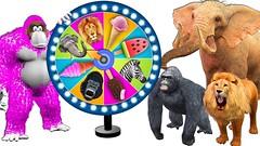 Wild Animals Playing Magic Spin Wheel With Ice Cream - Cartoon For Kids (benhxuongkhopvn) Tags: babies cartoonforkids children icecream magicspinwheel nurseryrhymes playing toddlers wildanimals