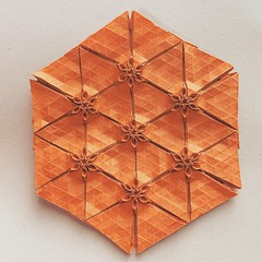 (kz_miu910) Tags: 折纸 摺紙 tessellation origamitessellation origami おりがみ 折り紙