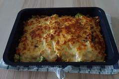 DSC09679 (Kirayuzu) Tags: nudelauflauf gemüseauflauf auflauf nudeln pasta gemüse brokkoli karotten mais erbsen speck bacon selbstgekocht selbstgemacht