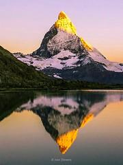 Matterhorn at sunrise (ivanstevensphotography) Tags: