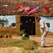 Mourning Man, Village in Uttar Pradesh India