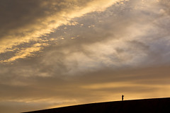 sunset at dunes (k n u l p) Tags: tottorisand dune sunset sky clouds shade sony nex7 鳥取砂丘 鳥取 sel55210 55210mm