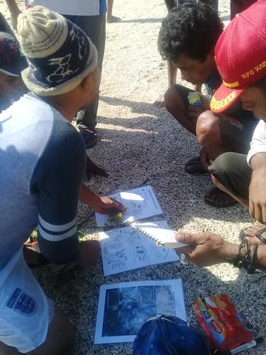 Pelatihan monitoring lamun Munaseli 13