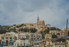 Port Of Mgarr City In Gozo
