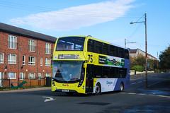 33202 SK68LWO First Glasgow (busmanscotland) Tags: ad adl alexander dennis e40d enviro 400 mmc enviro400 33202 sk68lwo first glasgow sk68 lwo