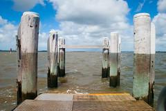 Pier (simonmgc) Tags: victoriapoint coochiemudlo ferry posts piles pier jetty 2035mmuwa