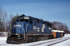 Not the Usual (ac1756) Tags: cr conrail gp402 3312 troutlake michigan rmd