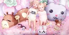 ❥  Get Milk Or Try Crying #39ಌ (TwoSouls SL) Tags: buglets tram {wf} wildflowers zenith beedesigns jian go daisychains bugletsclothingsl slchildren babysl slkids