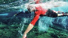 Swimrun Oeil de Verre Grotte Bleue octobre 201700049 (swimrun france) Tags: calanques provence swimming swimrun trailrunning training entrainement france
