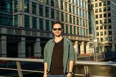 Eren Gunuc at Canary Wharf - London UK (erengun3) Tags: canarywharf london canary wharf reuters londra transport for
