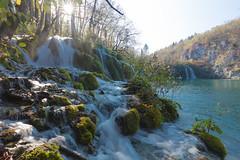 Cascade in the backlight. (Gergely_Kiss) Tags: canon1635 waterfall cascade korana croatia hrvatska plitvickajezera plitvicelakes plitvice