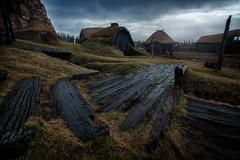DIU_75 (jpmfotografianocturna) Tags: islandia iceland lovesislandia viking vikingo poblado pobladovikingo casetas luznatural largaexposicion paisaje landscape filtros nd nikonistas nikon tokina vanguard