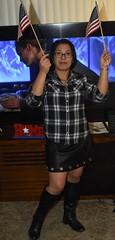 DSC_6305 (Ez2plee4u) Tags: sexy filipina wife husband skirt dress american flag booth high heels dance leg beauty beautiful leather red black yellow tv smile face colorado love happy short