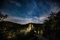 Fairytale Castle (clemensgilles) Tags: castle castillo burg eifel nachtaufnahme nightphoto nightspots nightphotography astrophotographers astro astrophotography stars starrysky stargazing chasingstars beautiful eltz wierschem germany