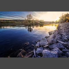 _IMG_1236-pimp2_cut (daniel kuhne) Tags: weserradweg outdoor nature hdr sunset niedersachsen beautiful water
