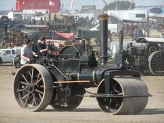 DSCF2184 (stevenjeremy25) Tags: gdsf dorset steam steamfair traction engine 50050 bh7168 rupert aveling porter roller 4842