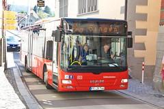 MAN Lion's City Südbadenbus in Stein am Rhein SH 13.7.2018 2466 (orangevolvobusdriver4u) Tags: 2018 archiv2018 schweiz suisse switzerland kantonschaffhausen steinamrhein grandtourofswitzerland grandtour oldtown altstadt manlionscity man lions city bus autobus südbadenbus road strasse