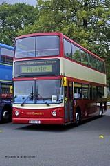 DONNINGTON 300918 BJ03EVC (SIMON A W BEESTON) Tags: showbus donnington 4453 westmidlands transbus dennis trident bj03evc