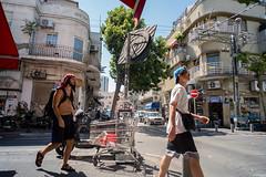 Tel Aviv (Valentine Kleyner) Tags: israel telaviv street people fuji voigtlander heliar urban
