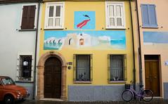 Borgo San Giovanni ponte (berightbackblog) Tags: rimini romagna emiliaromagna italia italy mare streetart