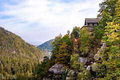 Oybin I (rwfoto_de) Tags: oybin deutschland europa sachsen herbst jahreszeiten fels steine zittauergebirge