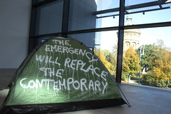 THE EMERGENCY WILL REPLACE THE CONTEMPORARY @Kuma Museum Mannheim (Thierry Geoffroy / Colonel) Tags: bonnephoto tentetent manet toolate édouard execution emperor maximilian artandeconomy kunsthalle mannheim museum thierrygeoffroy thierry geoffroy colonel documenta kassel documentakassel d13 tent zelt censuredart censored art censoredart kunst occupy movement biennalist fridericianum artist d14 athens