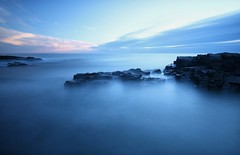 Craster Seascape (craigdwilkinson) Tags: craster blackhole rocks sea seascape northsea motionblur le
