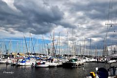 Puerto de Saint-Malo (Anavicor) Tags: bahía puerto port barco velero cielo nube nuage wolke nuvola sail nwn amoralartebarcos
