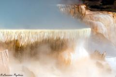Mammoth Hot Springs - Yellowstone National Park (superpugger) Tags: yellowstone wyoming montana outdoors america merica murica yellowstonenationalpark geothermal geothermalactivity volcanicactivity caldera nature parks theamericanwest ilovenature ilovebeingoutdoors water steam hotsprings naturalbeauty therockies