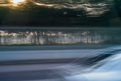 Moving (Tor Andreas Torhaug) Tags: abstract carseatview traffic deliberatecameramovement pad motionblur