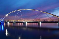 Too Late? (jeffr71) Tags: bridge lake sky dusk water sunset tempe jeffbridges le longexposure
