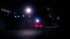 Please stop, help.. (igor.relsov) Tags: street car cinematic night light fog lamp road
