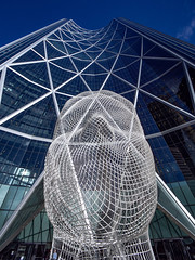 Urban Art (Kelly Gibbons) Tags: urban art architecture yyc tower wonderland lines angles omd em5 leica 8mm