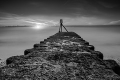 The Outlet (LKB_Photography) Tags: blackandwhitephoto aldeburgh suffolk leefilters canon5d canon england uk waterscape