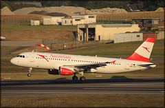 OE-LXA Airbus A320-216 Austrian Airlines (elevationair ✈) Tags: ebbr bru brussels airport zaventem belgium europe avgeek aviation airplane plane aircraft sun sunny summer heatwave austrian austrianairlines airbus a320 airbusa320216 oelxa