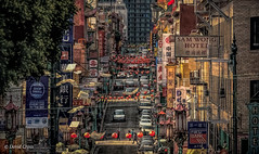 Grant Street (buffdawgus) Tags: chinatown grantstreet sanfrancisco sanfranciscochinatown leftcoast urbanlandscape westcoast topazstudio urbanscene canon70200mm28l canon5dmarkiii lightroom6